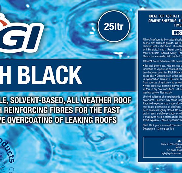 Sgi Pitch Black Sgi Industries Ltd