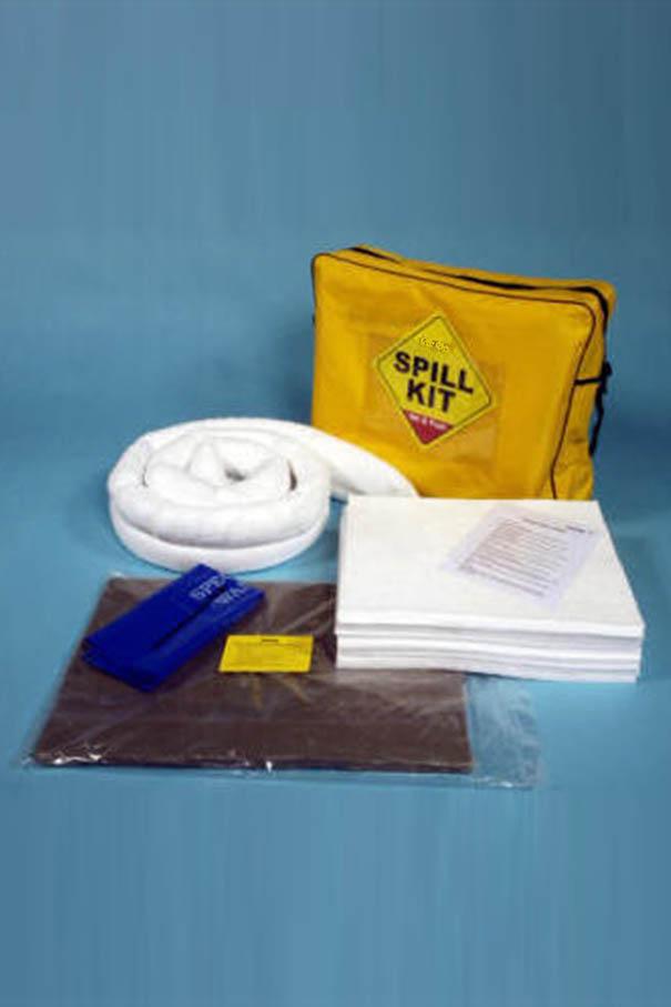 Absorbent Spill Kit 50 Litre In Shoulder Bag Sgi