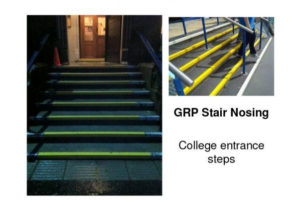 GRP Stair-Nosings
